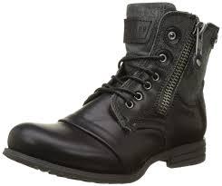womens black boots sale bunker zip fr1 s biker boots shoes cheap bunker shoes for