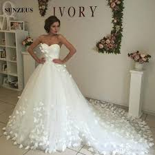 strapless wedding dress discount a line sweetheart strapless tulle princess wedding