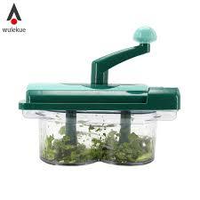 broyeur de cuisine wulekue en plastique amovible manuel légumes broyeur pour fruits