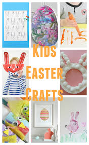 15 egg cellent kids easter crafts carrie elle