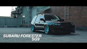 stanced subaru forester subaru forester sg9 youtube