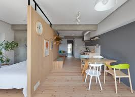 Two Apartments In Modern Minimalist Japanese Style Includes Floor - Japanese apartments design