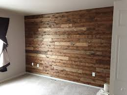 Accent Walls by Wooden Accent Wall Tutorial