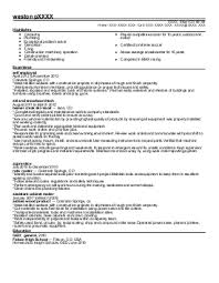 Laborer Resume Samples by Construction Laborer Resume Example Asphalt Maintenance Omaha
