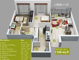 7 X 10 Bathroom Floor Plans by 100 House Design For 2bhk Vrr Greenpark Enclave By Vrr