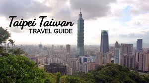 taipei taiwan travel guide 2017 things to do tourist spots and