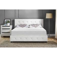 Quilted Headboard Bed Upholstered Headboard Bed Ebay