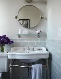 The  Best Round Bathroom Mirror Ideas On Pinterest Minimal - Bathroom sink mirror