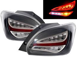 attrage mitsubishi 2014 crazythegod mirage 2012 2014 led bar tail rear light lamp