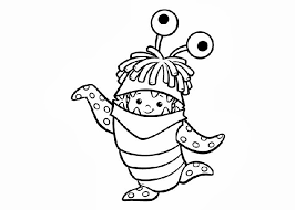 monsters inc coloring pages boo monsters inc boo coloring pages free coloring pages and coloring