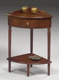 null furniture chairside table null furniture 1900 international accents 1900 16 corner end table
