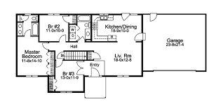 ranch home layouts turkey bend ranch home plan 057d 0042 house plans and more