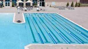 outdoor lap pool gym in mississauga life time