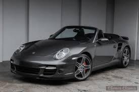 2008 porsche 911 turbo cabriolet gasoline porsche 911 turbo cabriolet in ohio for sale used cars