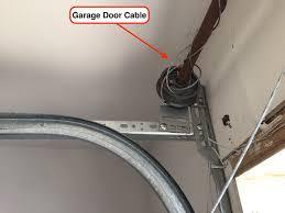 Parts Of Garage Door by How To Replace Garage Door Cables Garage Door Repair Info For All