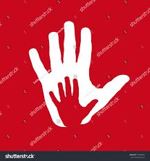 vector icon two hands help solidarity stock vector 515088334