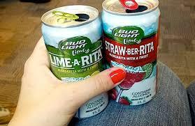Bud Light Margaritas Bud Light Straw Ber Rita Vs Bud Light Lime A Rita The Gut Check