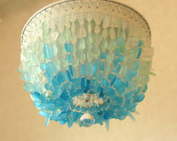 Glass Ceiling Fixture by Light Fixtures Etsy