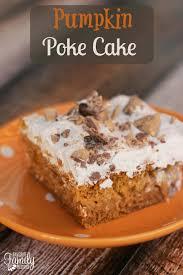 Halloween Poke Cake by Pumpkin Poke Cake Favorite Family Recipes