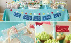 baby shower mustache theme baby shower decorations blue ba shower ideas best 25