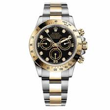 rolex on sale black friday rolex daytona black diamond dial 18 carat yellow gold and