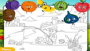 my colouring book fun fruit sketch pad game app download