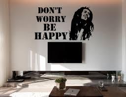 bob marley wall decal wall vinyl sticker easy to apply bob marley 1 tv wall