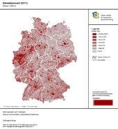 größte stadt deutschlands fläche bevölkerungsdichte