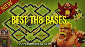 big clash of clans base amazing th8 war trophy farming hybrid bases 2017 layouts