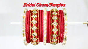 wedding chura bangles diy bridal chura bangles how to make designer silk thread