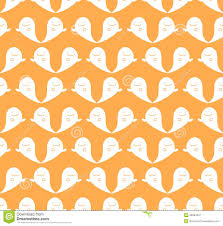 halloween background papers seamless halloween cute ghost pattern background stock