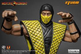 Mortal Kombat Scorpion Halloween Costume Mortal Kombat 1 12 Scale Scorpion Storm Collectibles