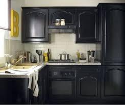 meuble de cuisine noir ensemble meuble cuisine peinture pour meuble cuisine gripactiv v33