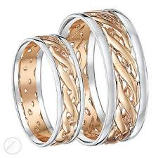 celtic wedding ring sets his hers 6mm 7mm 9ct gold celtic wedding ring set two