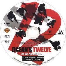 carátula dvd de ocean u0027s twelve ocean u0027s 12