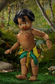 Josephine Baker Halloween Costume Auction Results Lenci Doll Collector Blog