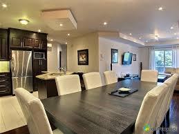 idee ouverture cuisine sur salon deco salon cuisine americaine 4 maison unifamiliale de style cottage
