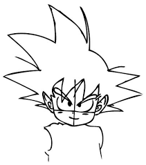 draw son goku child dragon ball drawing