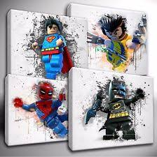 lego batman canvas ebay