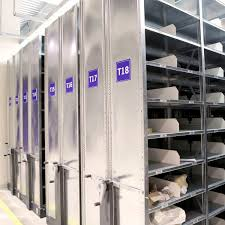 storage warehouse shelving for medium loads compact mobile