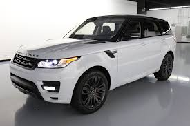 land rover white black rims used 2017 land rover range rover sport for sale 84 480 vroom