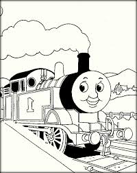 thomas train coloring pages toddlers color zini