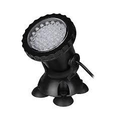 best submersible pond lights lemonbest submersible pond light 36 led color changing spot light
