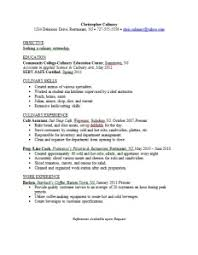 culinary resume exles culinary major resume sle career connoisseur