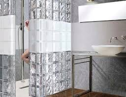 glass block bathroom ideas outstanding awesome glass block wall bathroom ideas best bathroom