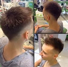 show me rockstar hair cuts the 40 hottest faux hawk haircuts for men