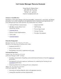 Resume Job Experience Examples by Resume Examples For Call Center No Experience Augustais