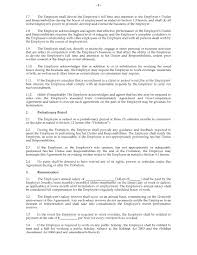 free employment contract form free payment agreement template