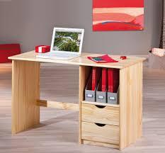 bureau pin bureau contemporain en pin massif naturel linus bureau bureau