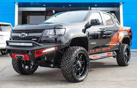 chevy colorado silver sema 2015 chevrolet colorado trail boss 3 0